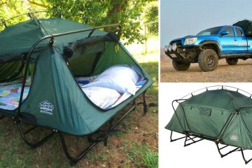 double tent cot