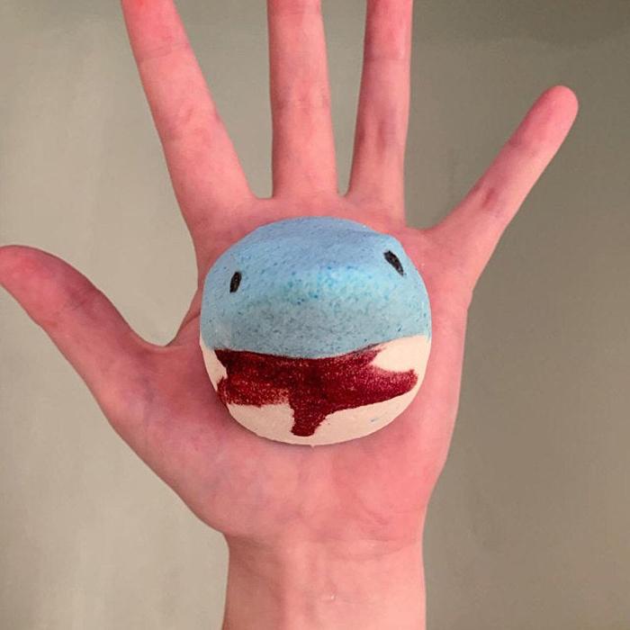 etsy shark bath bomb