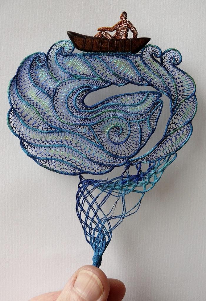 exploring the sea lace art agnes herczeg