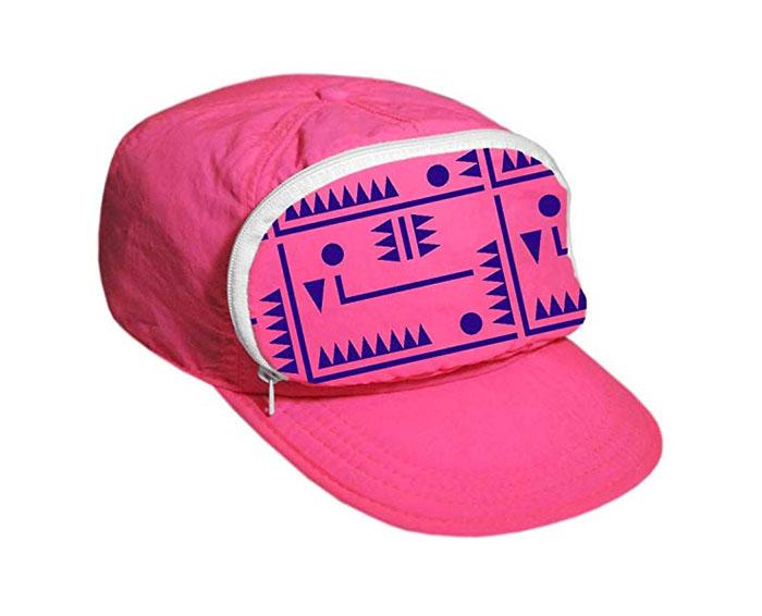 fanny pack cap pink