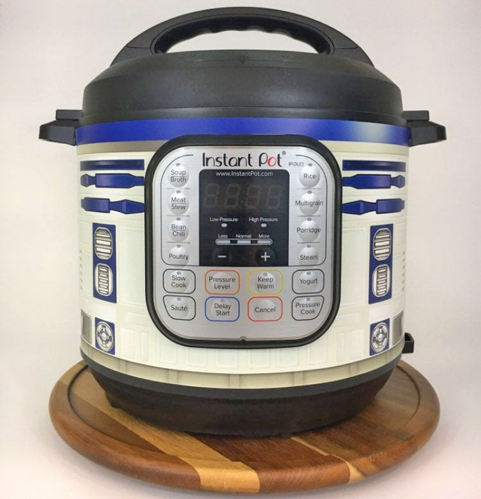 finished r2 d2 instant pot