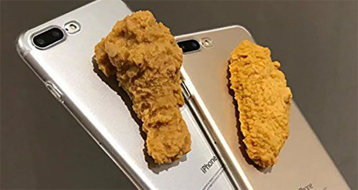 fried chicken iphone cases