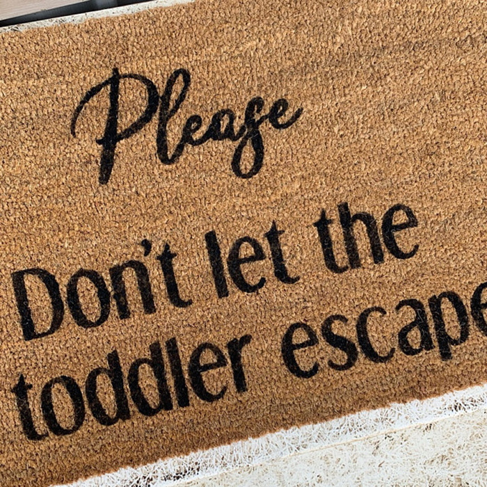 funny custom design doormat etsy