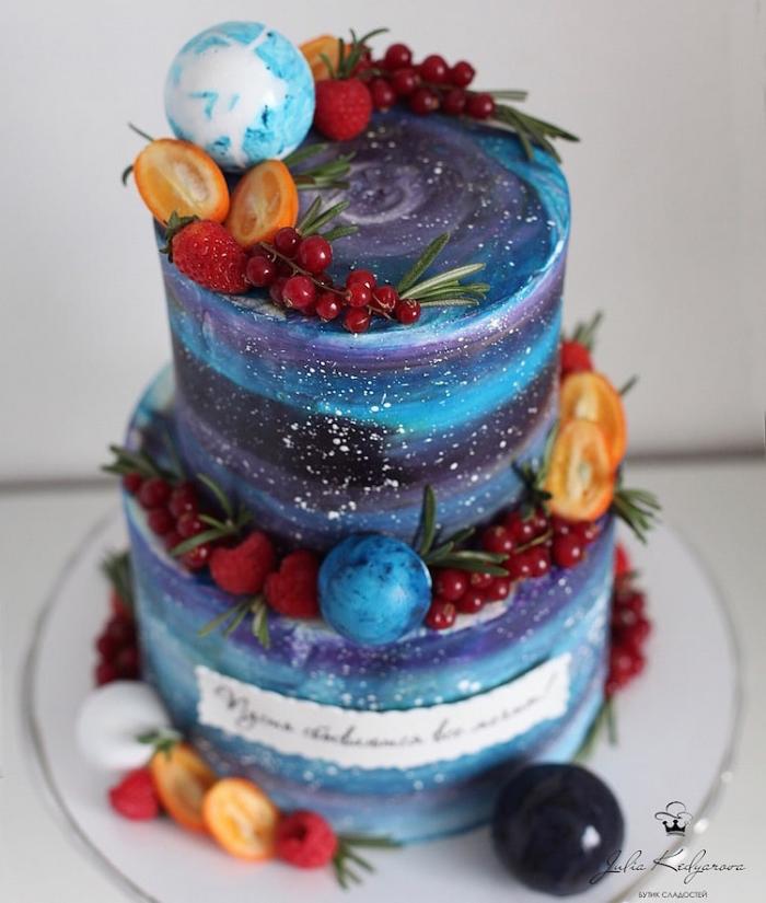 flowers cake art yulia kedyarova
