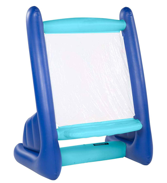 giant inflatable easel blue