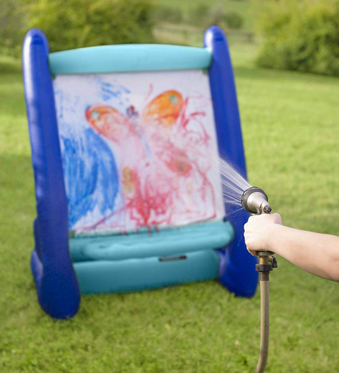 giant inflatable easel water washable