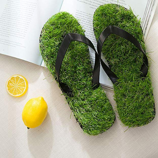 grass sandals artificial turf flip flops amazon