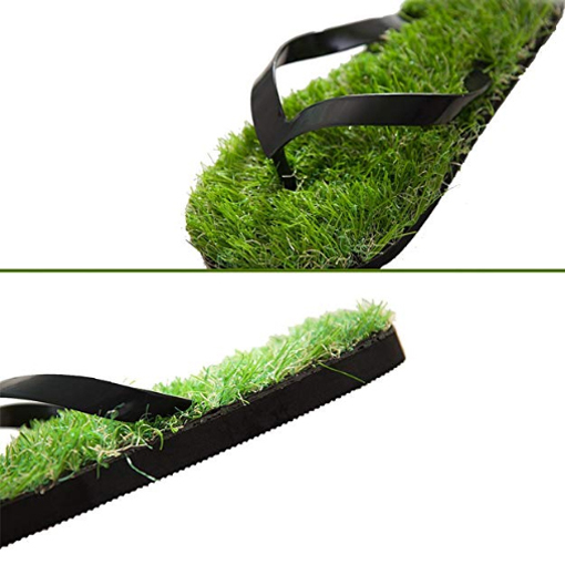 grass sandals artificial turf flip flops sole