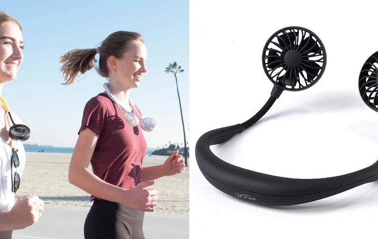 hands-free neck fan