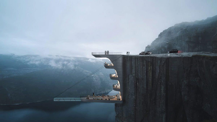 hayri atak cliff concept boutique hotel norway