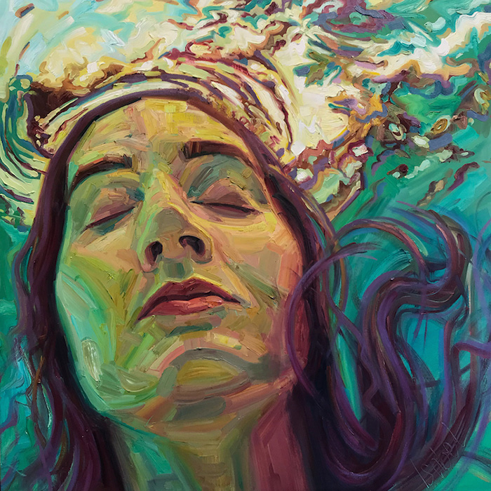 isabel emrich underwater oil paintings full face