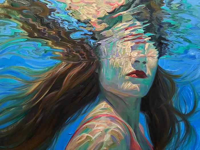 isabel emrich underwater oil paintings