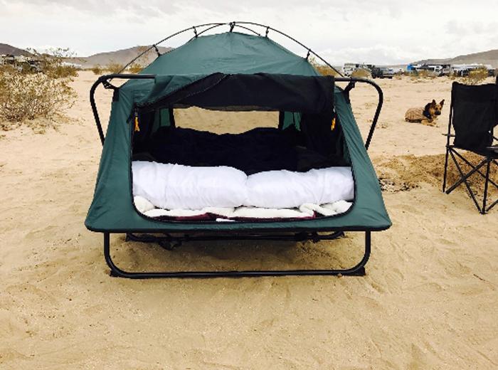 kamp-rite double tent cot camping