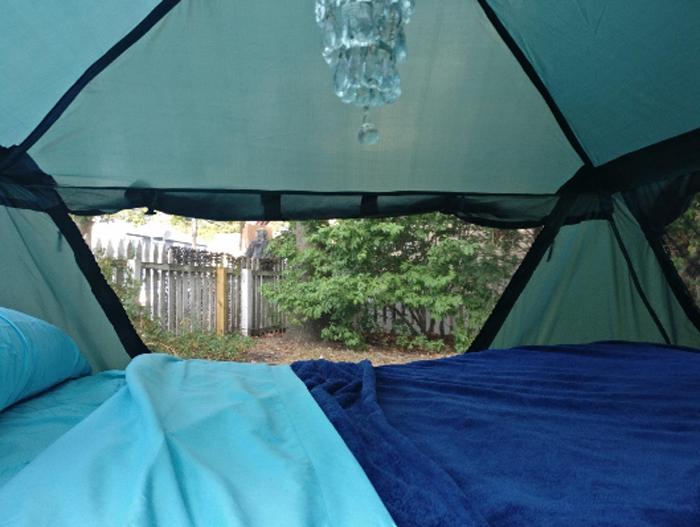 kamp-rite double tent cot interior