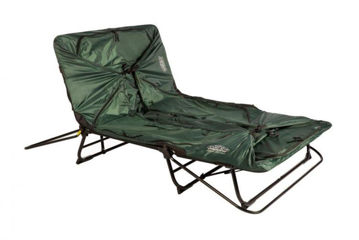 kamp-rite double tent cot lounge chair