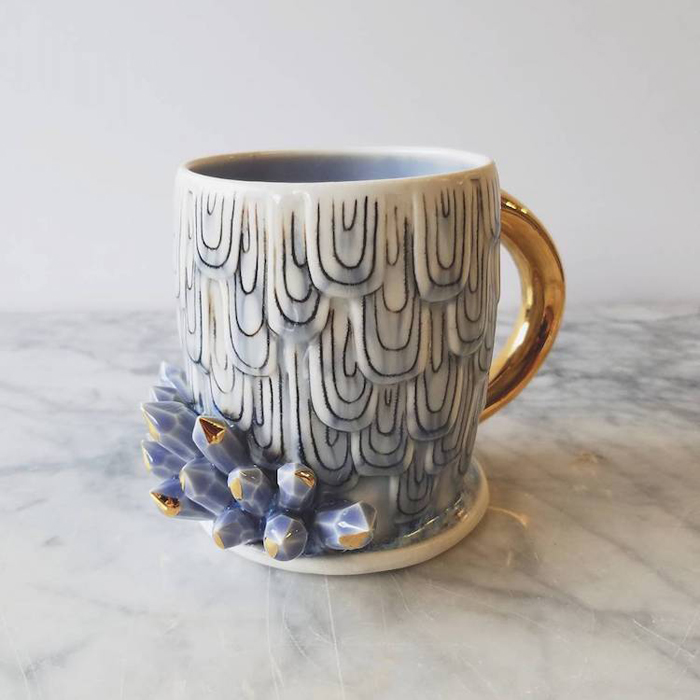 katie marks spectacular coffee mugs crystal design