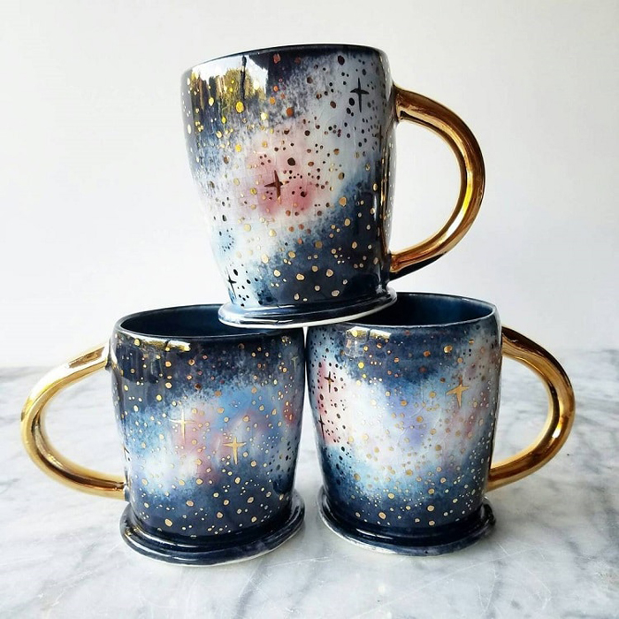 katie marks spectacular coffee mugs galaxy swirls