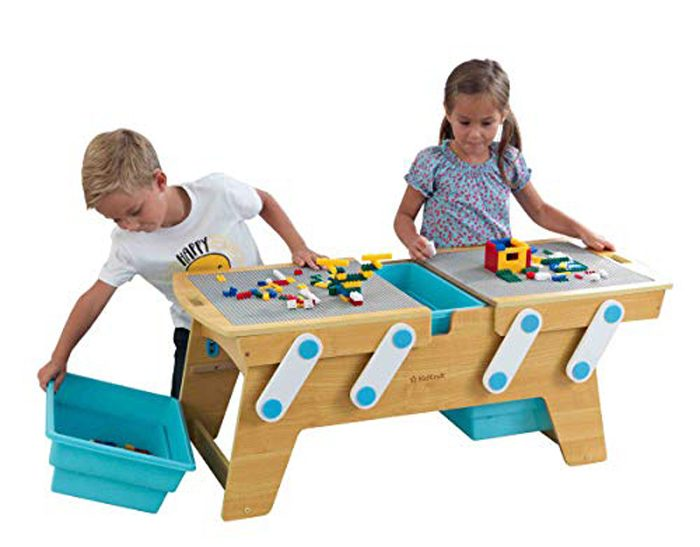 kidkraft lego compatible table amazon