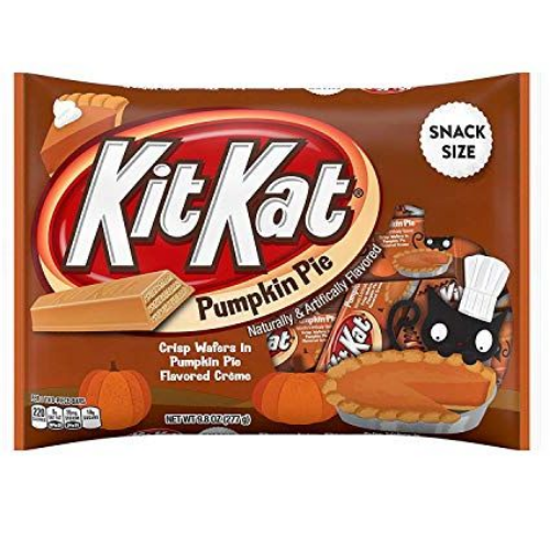 kitkat pumpkin pie best new halloween candy