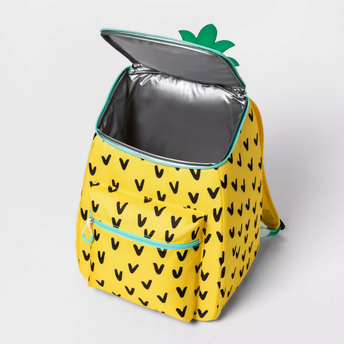leakproof target sun squad pineapple backpack cooler