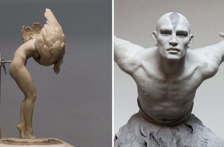 lifelike sculptures human