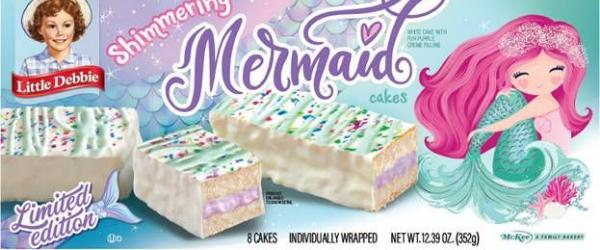 little debbie shimmering mermaid cakes dollar general