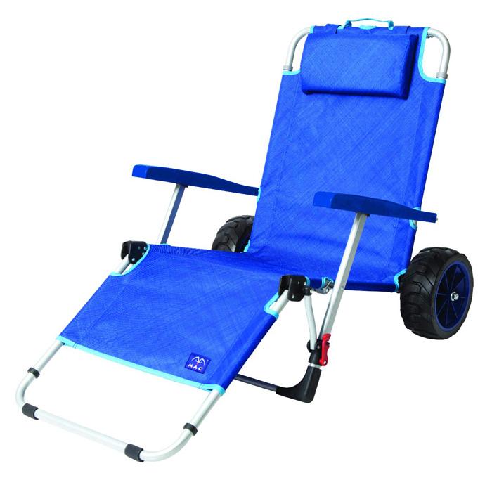 mac sports 2-in-1 beach lounger chair