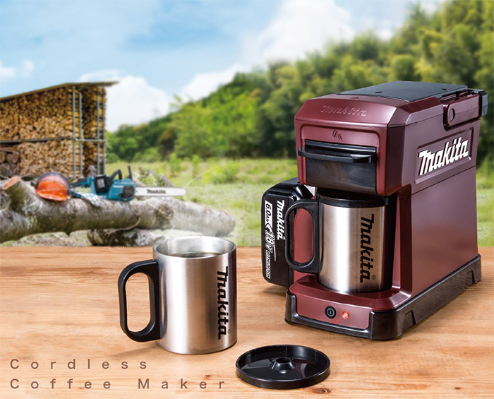 makita rugged job site coffee maker