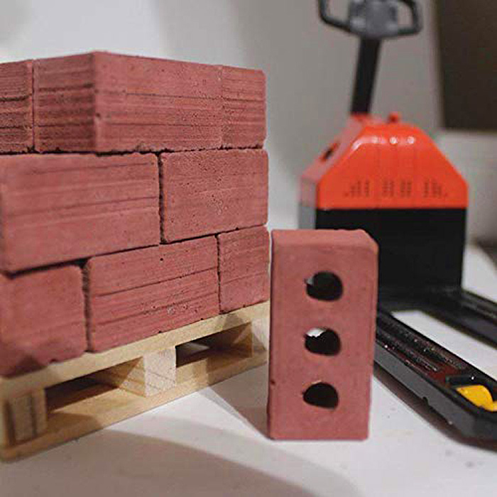mini cement bricks red hollow blocks