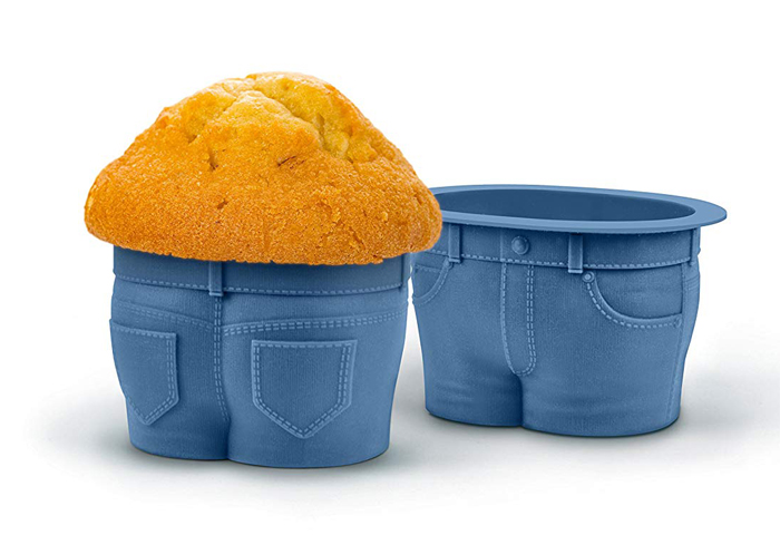 muffin top jeans baking molds