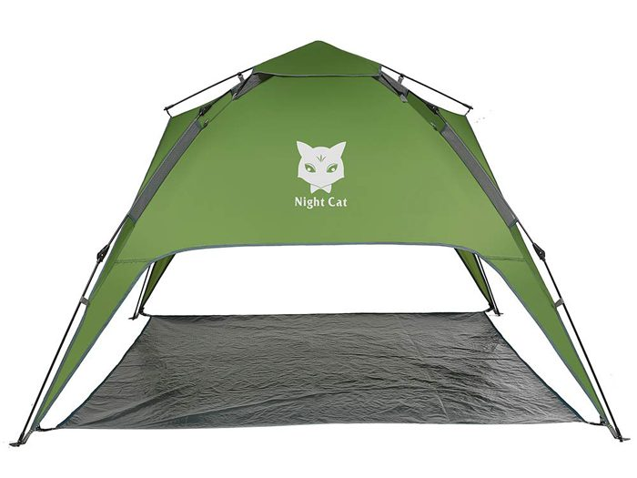night cat four-person camping tent amazon