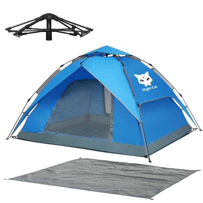 night cat four-person camping tent
