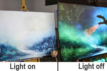 phosphorescent paintings