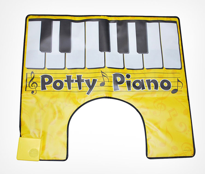 play toilet piano while you poo