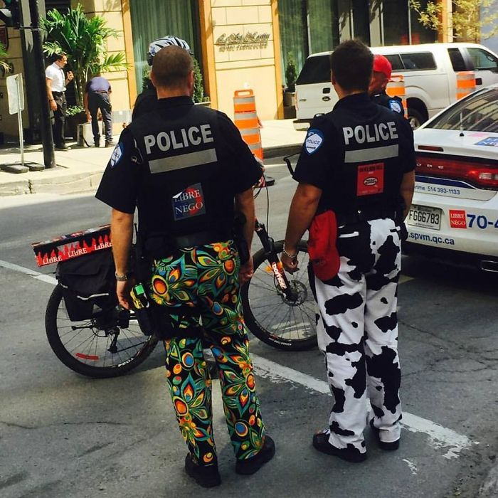 police protesting funny meanwhile in canada pictures