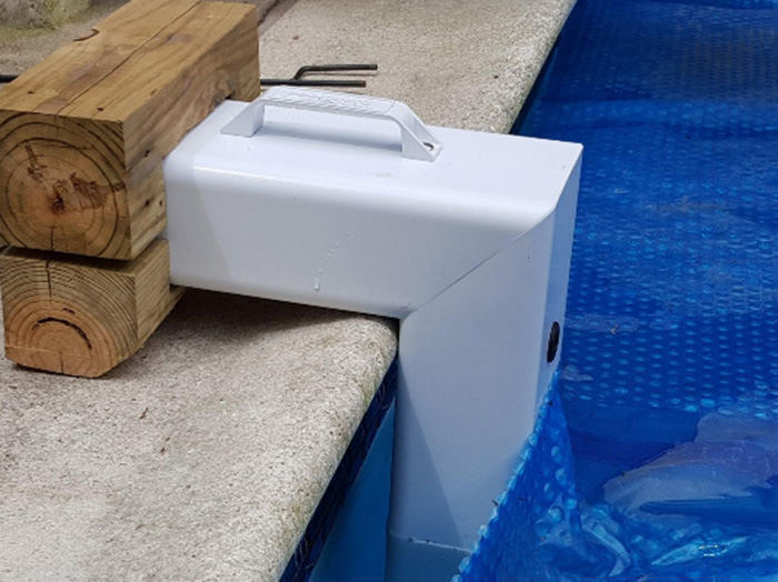 poolguard pool alarm unit solar cover