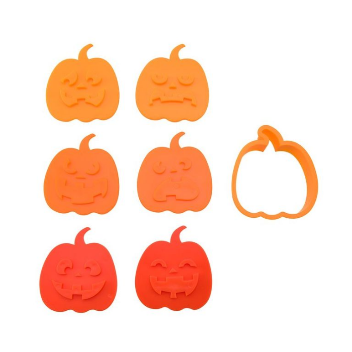 pumpkin cookie molder halloween party decoration ideas
