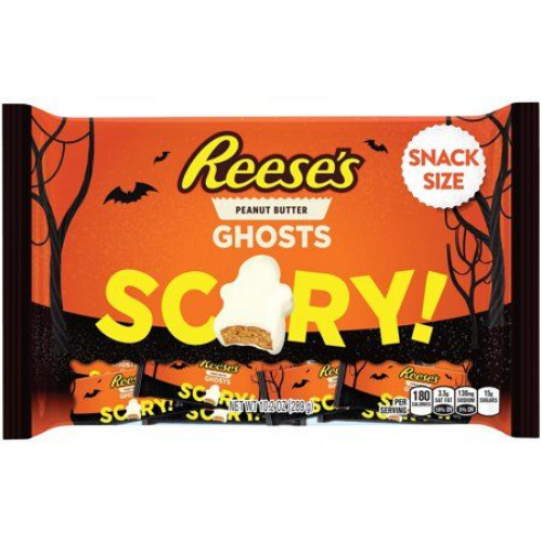 reese's peanut butter ghosts best new halloween candy