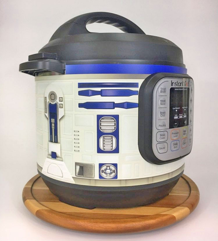 robot looking r2 d2 instant pot
