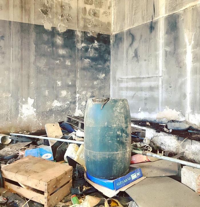 ruins before art graffiti object transformations bus artist odeith