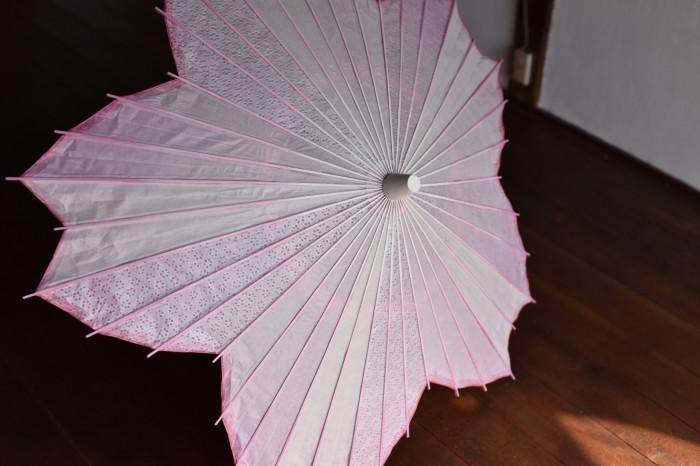 sakura-shaped parasol cherry blossom pattern