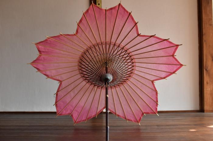 sakura-shaped parasol gifu handcraft artisan casa