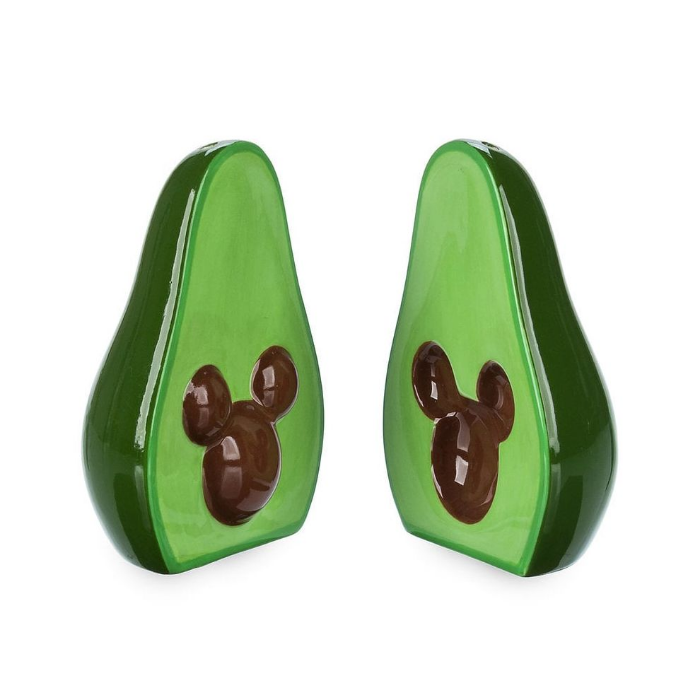 salt and pepper shaker disney avocado merchandise collection