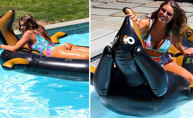 sausage dog pool float