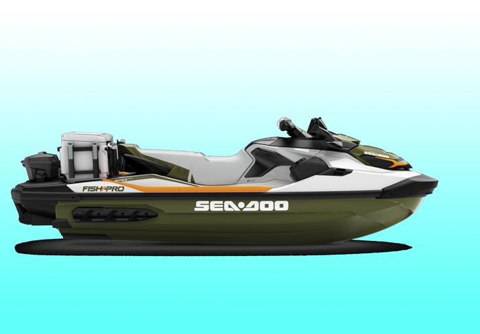 sea-doo fish pro fishing jetski design