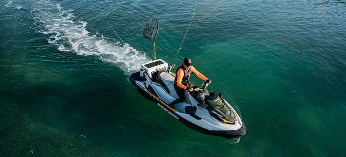 sea-doo fish pro fishing jetski