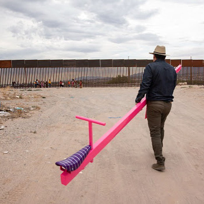 setting up seesaw in the us mexican border