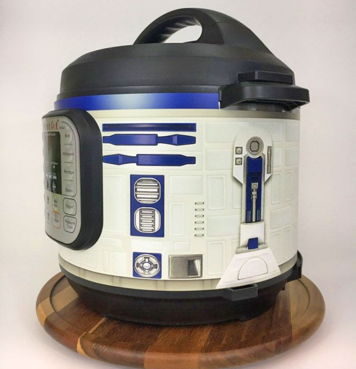 side view r2 d2 instant pot