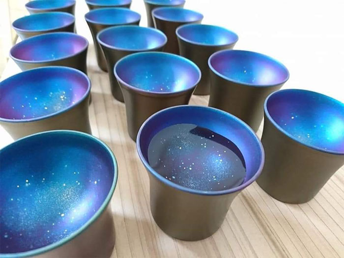 similar samples galaxy sake cup design