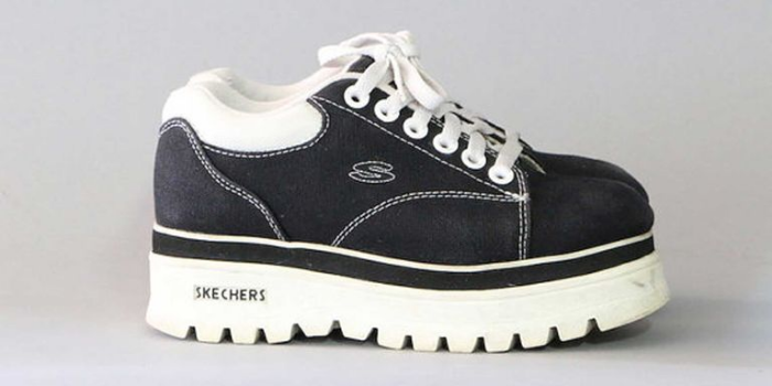 skechers platforms shoe nostalgia